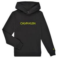 Clothing Children Sweaters Calvin Klein Jeans ZOPLINA Black