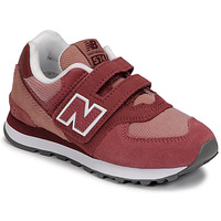 Shoes Girl Low top trainers New Balance 574 Pink