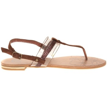 Shoes Women Sandals Cassis Côte d'Azur Hugolin Camel Brown