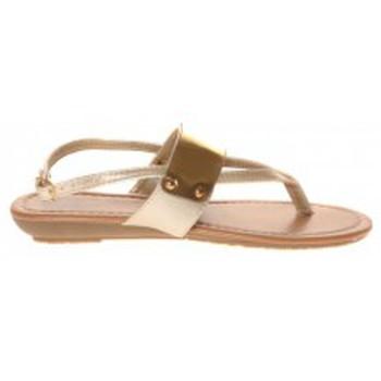 Shoes Women Flip flops Cassis Côte d'Azur Takwa OR Beige