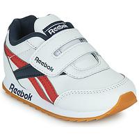 Shoes Children Low top trainers Reebok Classic REEBOK ROYAL CLJOG 2  KC White / Marine / Red