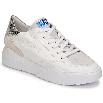 Shoes Women Low top trainers Semerdjian TANY White / Silver