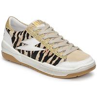 Shoes Women Low top trainers Semerdjian THEO Beige / Gold / Brown