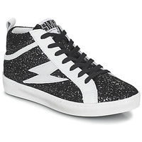 Shoes Women Hi top trainers Semerdjian ALFA Black / White