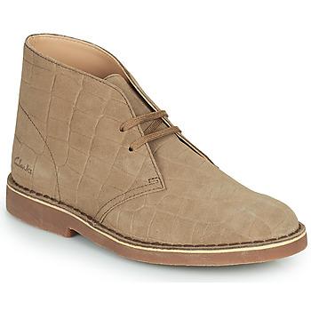 Shoes Women Mid boots Clarks  Beige