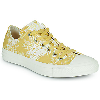 Shoes Women Low top trainers Converse CHUCK TAYLOR ALL STAR HYBRID FLORAL OX Yellow / White