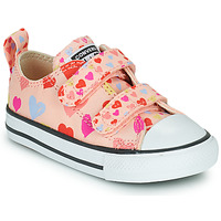 Shoes Girl Low top trainers Converse CHUCK TAYLOR ALL STAR 2V ALWAYS ON HEARTS OX Pink