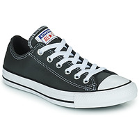 Shoes Low top trainers Converse CHUCK TAYLOR ALL STAR SEASONAL LEATHER OX Grey