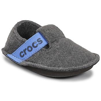 Shoes Children Slippers Crocs CLASSIC SLIPPER K Grey / Blue