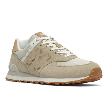 Shoes Low top trainers New Balance  Beige / White