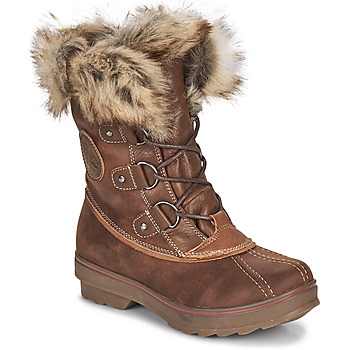 Shoes Women Snow boots Kimberfeel CAMILLE Brown