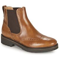 Shoes Women Mid boots NeroGiardini ARTICHO Cognac