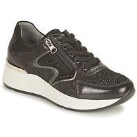 Shoes Women Low top trainers NeroGiardini CHOU Black