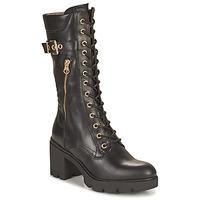 Shoes Women High boots NeroGiardini CHAMPIGNO Black