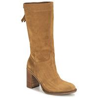 Shoes Women High boots NeroGiardini CITROUILLO Cognac