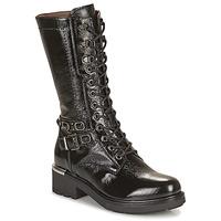 Shoes Women High boots NeroGiardini COURGO Black