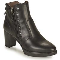 Shoes Women Ankle boots NeroGiardini DACHINO Black