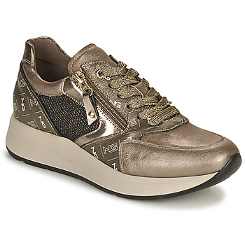 Shoes Women Low top trainers NeroGiardini  Gold