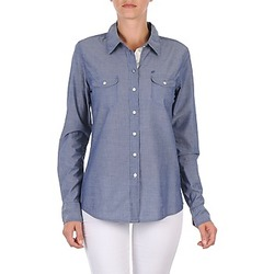 Clothing Women Shirts Oxbow E1FARINI Blue
