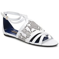 Shoes Women Sandals Roberto Cavalli TPS918 White