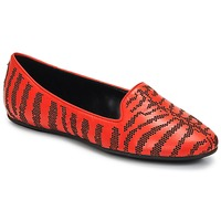 Shoes Women Loafers Roberto Cavalli TPS648 Orange