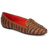 Shoes Women Loafers Roberto Cavalli TPS648 Brown