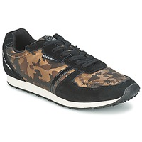 Shoes Women Low top trainers Diesel CAMOUFLAGE Brown