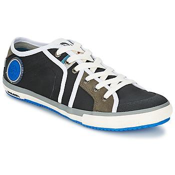 Shoes Men Low top trainers Diesel Basket Diesel Black