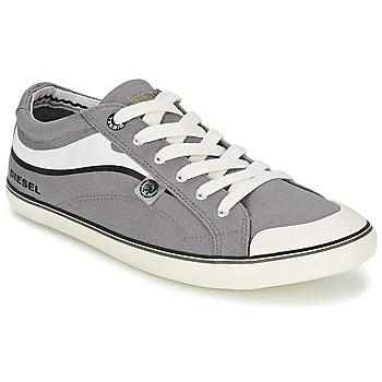 Shoes Men Low top trainers Diesel Basket Diesel Grey