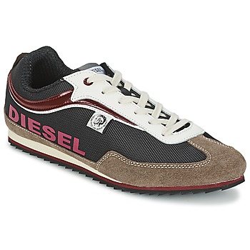 Shoes Men Low top trainers Diesel Basket Diesel Brown