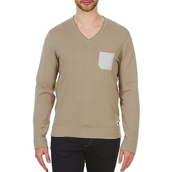 Clothing Men Jumpers Chevignon V ALLEGRO Beige