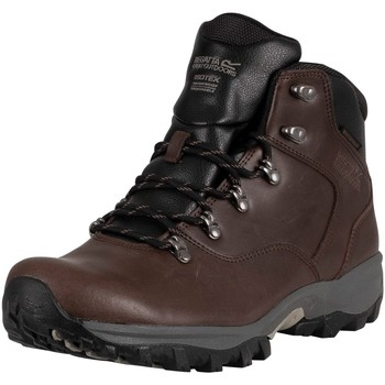Shoes Men Boots Regatta Bainsford Hiking Leather Boots brown