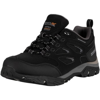 Shoes Men Boots Regatta Holcombe IEP Low Walking Boots black