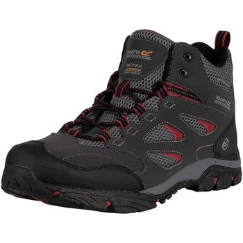 Shoes Men Boots Regatta Holcombe IEP Mid Walking Boots black