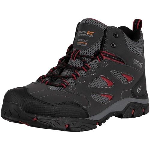 Shoes Men Boots Regatta Holcombe IEP Mid Walking Boots black