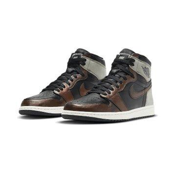Shoes Hi top trainers Nike Air Jordan 1 Rust Shadow Black/Light Army-Sail-Fresh Mint