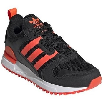 Shoes Children Low top trainers adidas Originals ZX 700 HD J Black, Orange