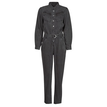 Clothing Women Jumpsuits / Dungarees Ikks MAID Grey