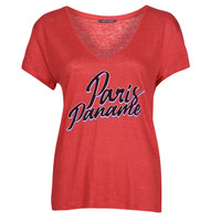 Clothing Women Short-sleeved t-shirts Ikks CARRY Red