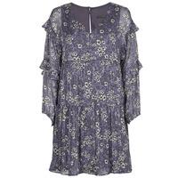 Clothing Women Short Dresses Ikks FRENNU Blue