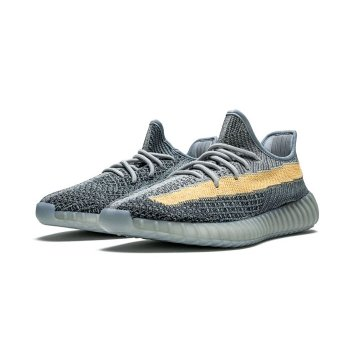 Shoes Low top trainers adidas Originals Yeezy Boost 350 V2 Ash Blue Ash Blue/Ash Blue/Ash Blue
