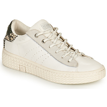 Shoes Women Low top trainers Palladium Manufacture TEMPO 04 SYN White