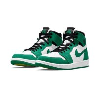 Shoes Hi top trainers Nike Air Jordan 1 Zoom Stadium Green Stadium Green /Black/White-Ghost Green