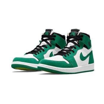 Shoes Hi top trainers Nike Air Jordan 1 Zoom Stadium Green Stadium Green /Black/White-Ghost Green