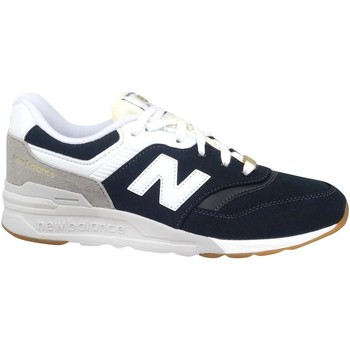 Shoes Children Low top trainers New Balance 997 White, Black