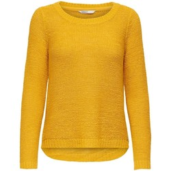 Clothing Women Jumpers Only Pull femme  Geena xo golden yellow