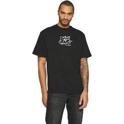 Clothing Men Short-sleeved t-shirts Fubu T-shirt  Script noir