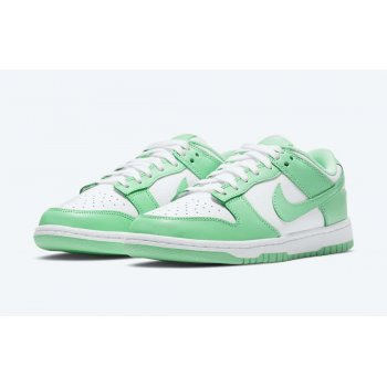 Shoes Low top trainers Nike Dunk Low Green Glow White/Green Glow
