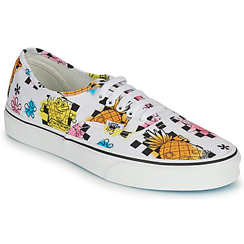 Shoes Low top trainers Vans AUTHENTIC White / Yellow / Blue