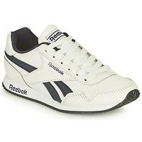 Shoes Boy Low top trainers Reebok Classic REEBOK ROYAL CLJOG White / Black